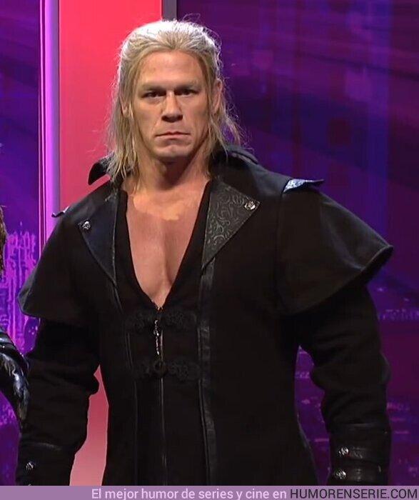 47471 - Así sería The Witcher protagonizada por John Cena