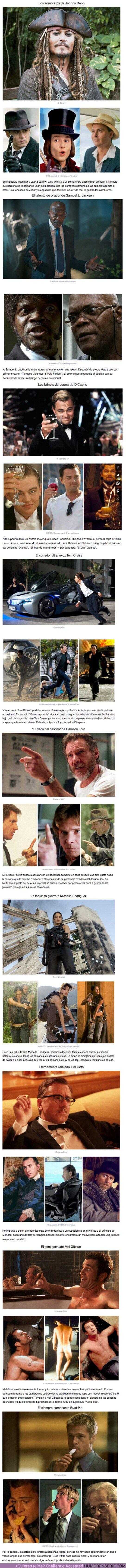 52978 - Los extraños gestos que algunos de estos 9 actores no paran de repetir en sus películas