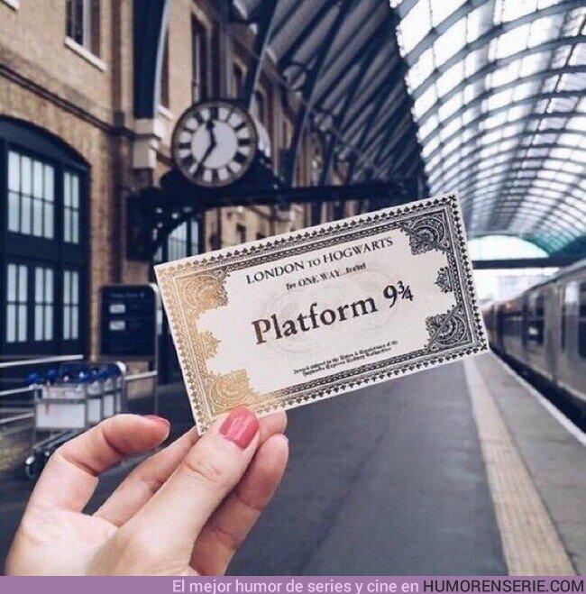 54110 - Quiero este billete, por @Harry_Potter_TM
