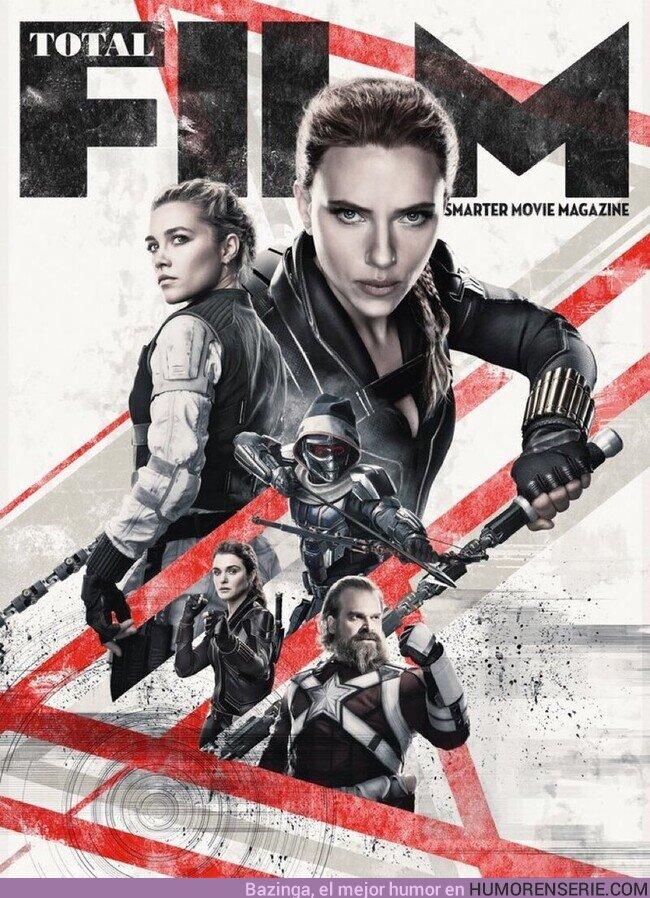 57717 - Portada de Total Film para el estreno de Viuda Negra