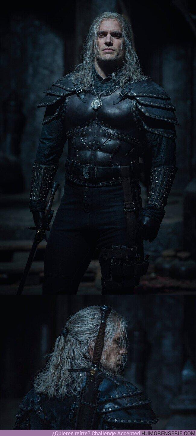 59010 - The Witcher: Primer vistazo a la nueva armadura de Henry Cavill en la segunda temporada
