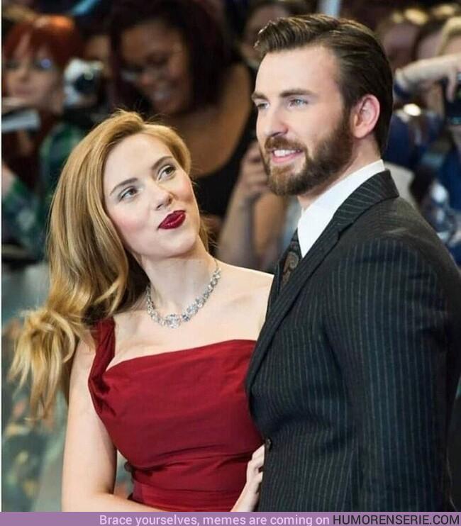 59674 - Alguien que te mire como Scarlett Johansson mira a Chris Evans.