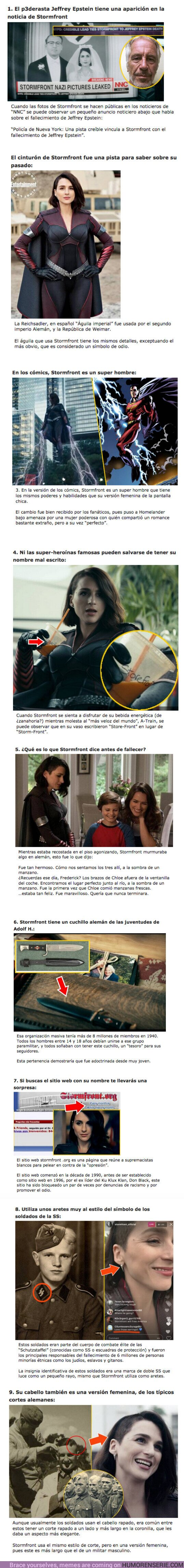 "59996 - GALERÍA: 9 Curiosidades sobre ""Stormfront"" la supervillana de ""The Boys"""