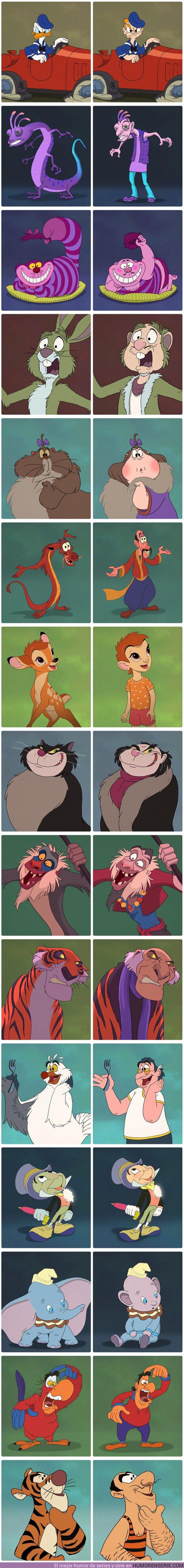 60019 - GALERÍA: Así se verían 15 personajes de Disney si fueran humanos
