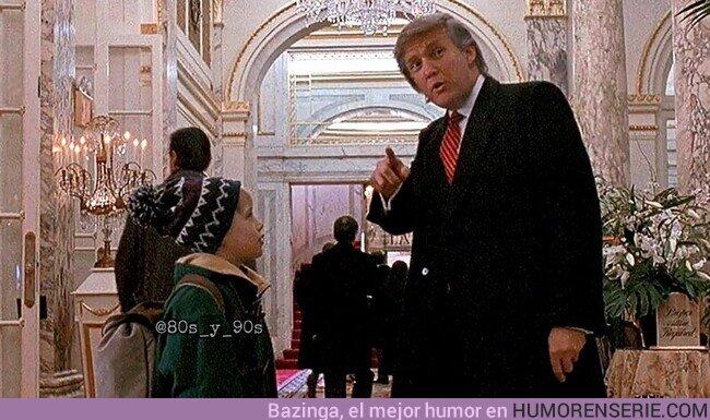 60847 - Todo el mundo odia a Trump, pero fue el único que ayudó a Kevin a encontrar el elevador. Por 80s y 90s