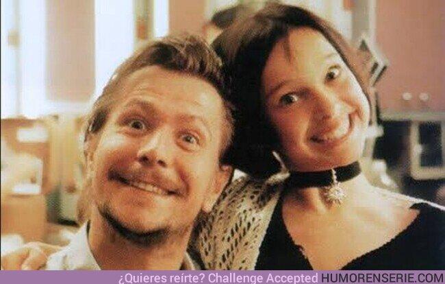 61012 - Gary Oldman y Natalie Portman en el set de Léon: The Professional