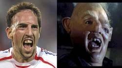 Enlace a Frank Ribery, haciendo un guiño a los Goonies