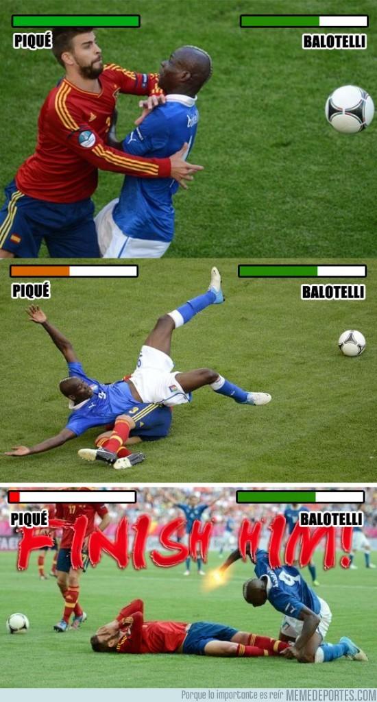 1310 - Piqué vs Balotelli