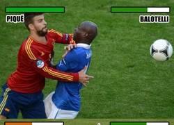 Enlace a Piqué vs Balotelli