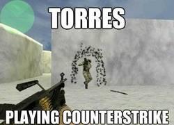 Enlace a Torres jugando al counter strike
