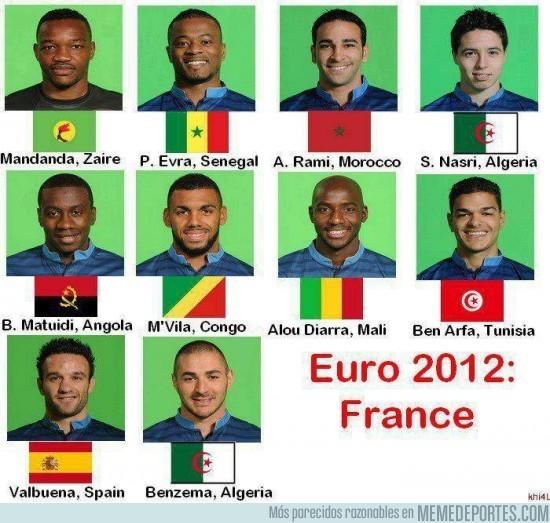 163 - Y después de la alemana, la selección ¿francesa?