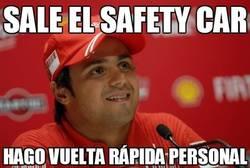 Enlace a Sale el safety car