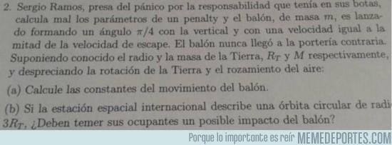 1878 - Sergio Ramos sentando cátedra en exámenes de Física