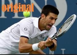 Enlace a Djokovic, nueva víctima del photoshop