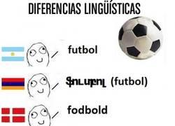 Enlace a Fútbol en distintos idiomas, ¿quién dará el cante?