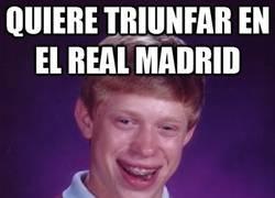 Enlace a Quiere triunfar en el Real Madrid