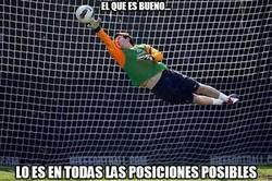 Enlace a Messi guardameta