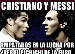 Enlace a Cristiano y Messi