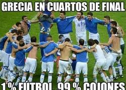 Enlace a Grecia en cuartos de final
