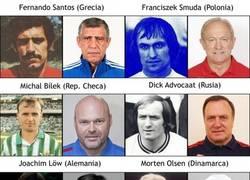 Enlace a Seleccionadores de la Euro cuando eran jugadores
