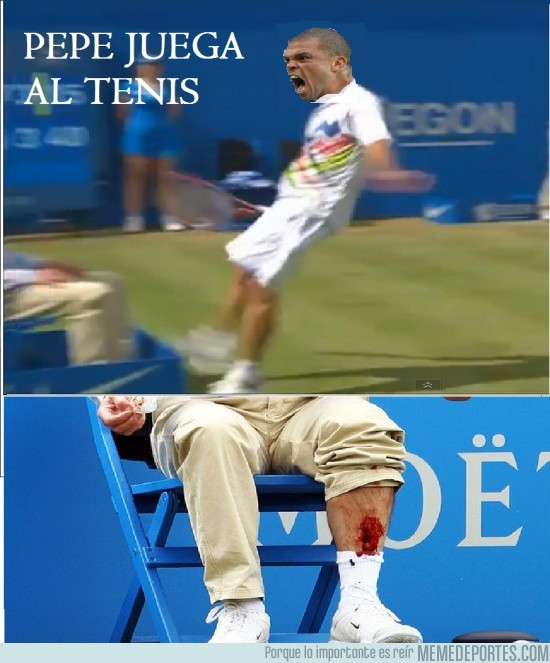 3310 - Pepe jugando a tenis