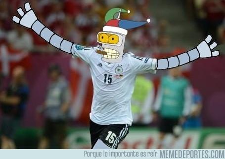 3496 - Alemania - Dinamarca, Bender, hombre del partido