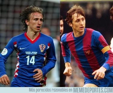 3519 - Luka Modrić y Johan Cruyff, separados al nacer