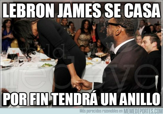 3948 - LeBron james se casa