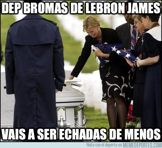 4110 - DEP BROMAS DE LEBRON JAMES