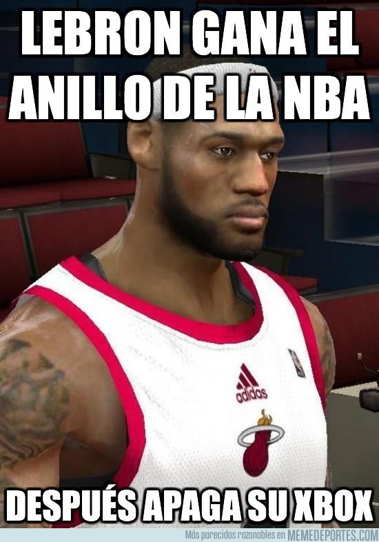 432 - LEBRON GANA EL ANILLO DE LA NBA