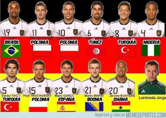 44 - La selección ¿alemana?