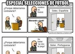 Enlace a Especial selecciones de fútbol