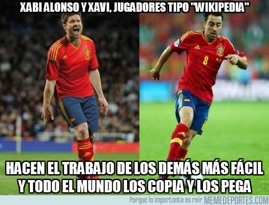 5177 - Xabi Alonso y Xavi