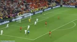 Enlace a ¡Y llega el primer gol ante Francia, de Xabi Alonso!
