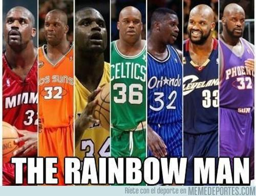 5495 - The rainbow man