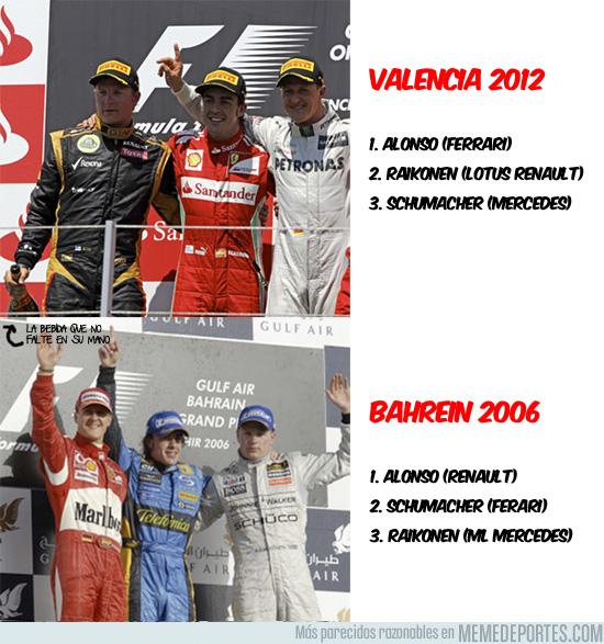 5716 - Y 6 años después, los tres otra vez en el podio