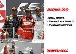 Enlace a Y 6 años después, los tres otra vez en el podio