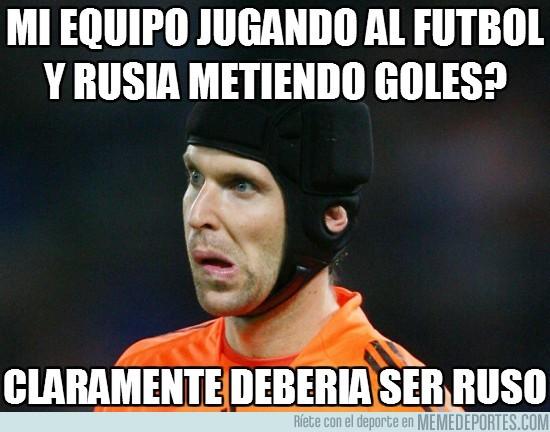 595 - Cech no entiende nada, acostumbrado a jugar en el Chelsea