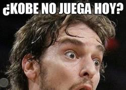 Enlace a ¿Kobe no juega hoy?