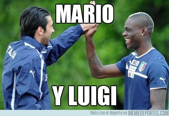 6241 - Mario y Luigi, nunca te los habías imaginado así