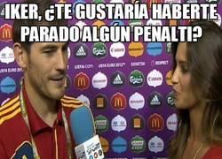 Enlace a Iker, ¿te gustaría haberte parado algún penalti?