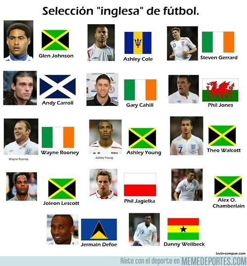 867 - Y tras la alemana y la francesa, llega la selección inglesa