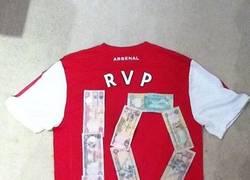Enlace a Money Van Persie