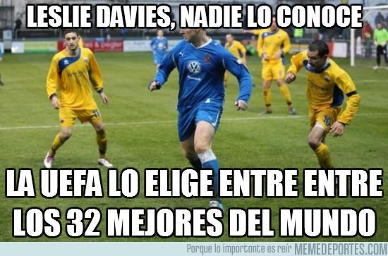 11085 - Leslie Davies, Nadie lo conoce