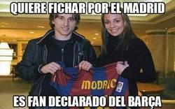 Enlace a Quiere fichar por el Madrid