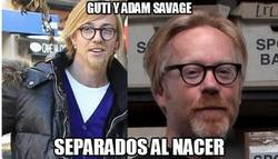 Enlace a Guti y Adam Savage