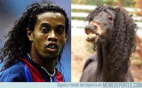 11288 - ¿Sabrías decir cuál de los dos es Ronaldinho?
