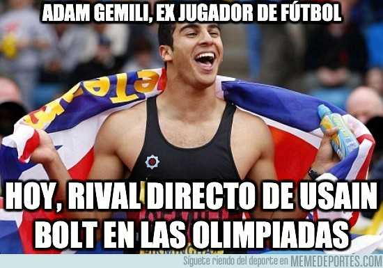 11454 - Adam Gemili, ex jugador de futbol