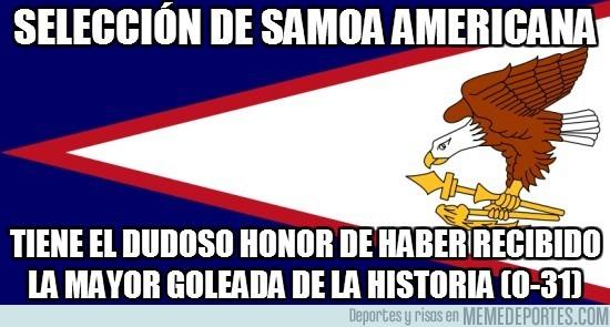 11529 - SELECCIÓN DE SAMOA AMERICANA