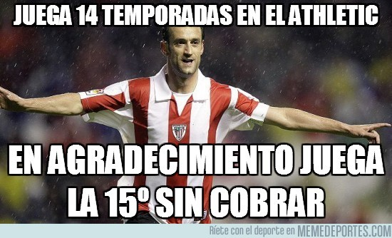 11581 - Juega 14 temporadas en el Athletic